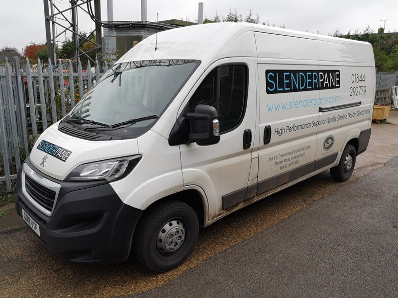 Slenderpane delivery of slim double glazed units