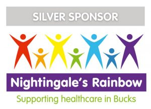 Silver sponsor for the Nightingale Rainbow Appeal